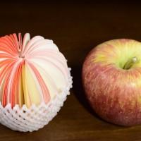 メモ帳 フルーツ 盛り合わせ リンゴ