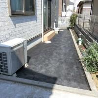 雑草対策 防草シート 宿根ガーデン