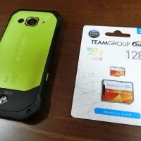 TORQUE(トルク)G03、SDカードの入れ方